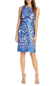 Looking for Vince Camuto Embroidered Sheath Dress ? Check out our picks for the Vince Camuto Embroidered Sheath Dress from the popular stores - all in one. Size 14 Dresses, Dresses Online, Petite Women, Nordstrom Dresses, Women's Fashion Dresses, Flare Dress, Sheath Dress, Evening Dresses, Clothes For Women