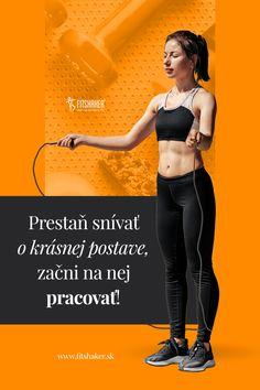 Mať krásne zdravé fit telo nie je vec len pre vyvolených. Rovnako sa k nej vieš prepracovať aj ty. Stačí sa venovať pravidelnému pohybu a jesť zdravo. Návod, ako na to, nájdeš aj v našich Fitshaker výzvach. #chudnutie #MotivaciaNaCvicenie