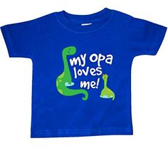 inktastic My Great Aunt Loves Me Dino Toddler T-Shirt