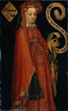 ANONIMO RETRATO DE ISABEL VAN DUVENVOORDE 1430