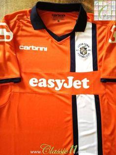 1146cf94839 2011 12 Luton Town Home Football Shirt (L)  BNWT