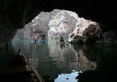Kayak Black Canyon on the Colorado River with #desertadventures just outside Las Vegas.
