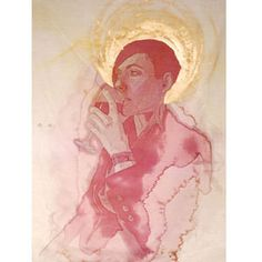 Amelia Fais Harnas creates truly amazing art by staining fabrics with red wine.