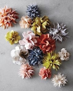 Host a Pre-Prom Party Where Everyone's Royalty - Scatter fabric flowers on a coffee table, along with a small dish of ribbons and straight pins, for last-minute corsages or boutonnieres.