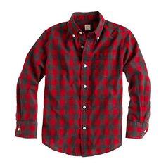 #jcrew #crewcuts #classic #plaid #checked #buttonupshirt #kids #boys #classic