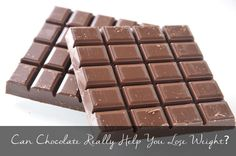 Can Chocolate Help You Lose Weight? Lose Weight, Weight Loss, Favorite Candy, Health Fitness, Nutrition, Diet, Canning, Chocolate, Food
