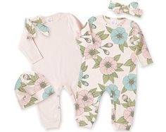 Newborn Girl Take Home Outfit Newborn Girl Little by TesaBabe
