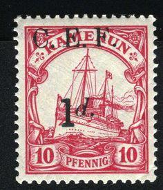 Cameroun occupation stamp