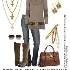 Think fall... then look at the whole look here, including the lovely Premier Designs jewelry!  I am a jeweler!