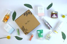 NUOO #beautybox #box #organic #natural #nontoxic #beauty #naturalbeauty #organicbeauty #healthy #green #greenchic #fun #colors