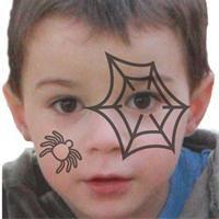Maquillage Halloween  Tuto maquillage enfant - Loisirs créatifs