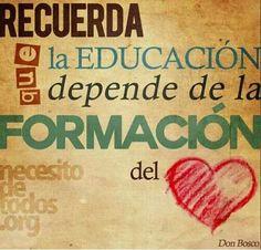 Educar con alegria.