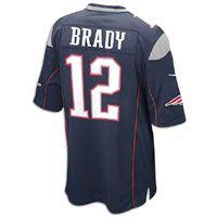 Tom Brady Nike NFL Game Day Jersey - Mens - College Navy