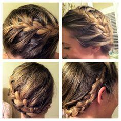 Fun braid I did on Madison tonight!