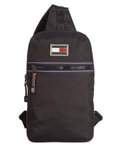 Tommy Hilfiger Ripstop Nylon Sling Bag