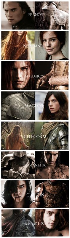 """While still a youth Fëanor wedded Nerdanel, daughter of Mahtan,[5] who bore him seven sons. - """"For Fëanor was made the mightiest in all parts of body and mind: in valour, in endurance, in beauty, in understanding, in skill, in strength and subtlety alike: of all the Children of Ilúvatar, and a bright flame was in him."""" Tumblr.com"""