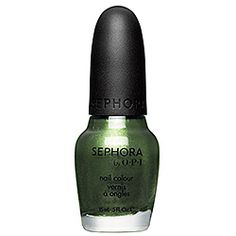 SEPHORA by OPI - Leaf Him at the Altar green Nail Colour for Christmas gifts