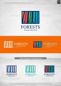 Forest - Logo Design Template Vector #logotype Download it here: http://graphicriver.net/item/forest-logo-template/11228944?s_rank=952?ref=nesto