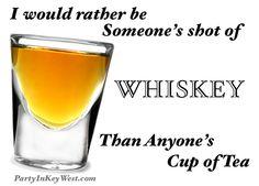 Liquid sunshine...whiskey!
