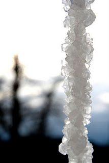 Borax icicle