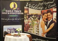 Eagle Trace Golf & Event Center at the St. Cloud Wedding Expo.