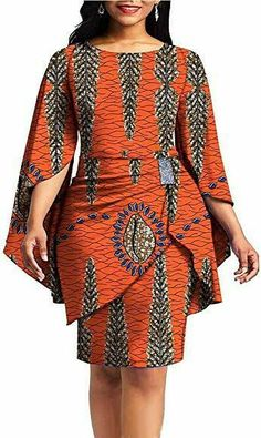 Latest African Fashion Dresses, African Dresses For Women, African Print Dresses, African Print Fashion, African Attire, Ankara Fashion, Ghana Fashion Dresses, Nigerian Fashion, African Men