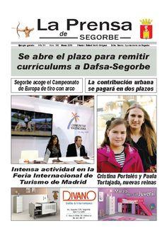 LA PRENSA DE SEGORBE nº 160 Marzo 2013