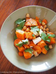 Looking for Clementines: Juuressalaatti bataatista ja porkkanoista