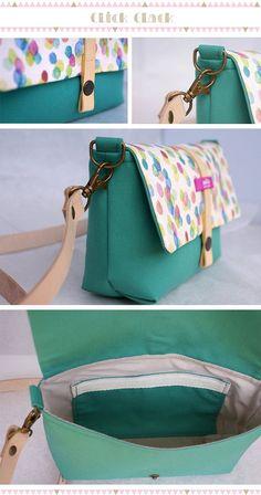 Small pink backpack with colorful printed fabric by MofaBarcelona Diy Bags Purses, Diy Handbag, Handbag Tutorial, Patchwork Bags, Purse Patterns, Sewing Patterns, Fabric Bags, Cotton Bag, Handmade Bags