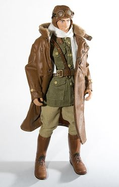 Beautiful WWI leather flight jacket, the perfect attire for the ...