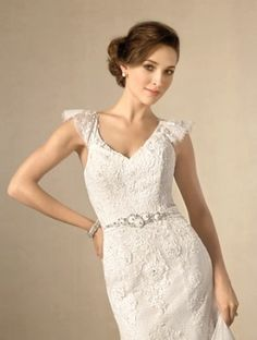 ALFRED ANGELO Bridal Collection Style 2437. #BestForBride