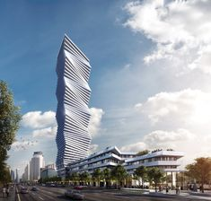 CORE's Undulating Tower Will Be Mississauga's Tallest Building