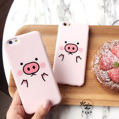 3D Cartoon Cute Piggy Baby Bink Style Soft Silicone Case For iPhone 6 6s 6s Plus