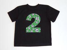 Soccer Birthday Boys Birthday Shirt Soccer by TheYellowBumbleBee