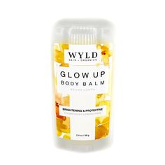 Another amazing and super convenient use at home or on-the-go skincare product. Our ultra-hydrating body balm is in a stick format, giving you the huge benefit of handling your day to day tasks without getting an oily or greasy residue on your hands. Our Glow Up blend is formulated specifically to brighten and protect dull, dry skin. Body Butter, Dry Skin, Benefit, The Balm, Glow, Skincare, Organic, Hands, Amazing
