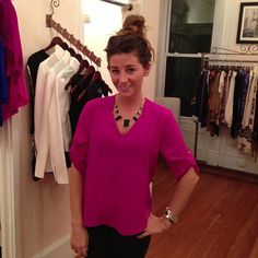 The Staci Blouse @Crush Boutique