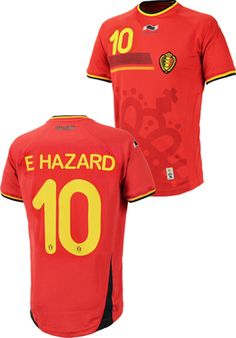 ベルギー代表(H)2014 #10アザール