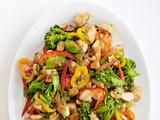 This recipe is delicious, easy, quick, and healthy!  Works with any veggies you like