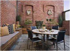 Terraza rustica