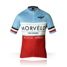 Another Morvello jersey. Great colours.