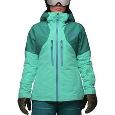 e0110d997f7d  356.82 The North Face Powder Guide in Vistula Blue Harbor Blue--very nice