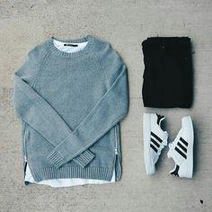El gris y el frío, van siempre bien! #lookoftheday #suchafuncolor