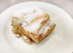 Denné menu Vranov | Ovocná žemľovka s vaječnou krustou - reštaurácia Hotel Patriot*** #hotel #restaurant