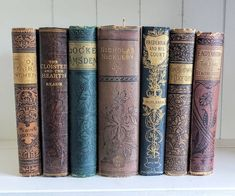 Your place to buy and sell all things handmade Victorian Books, Antique Books, Vintage Books, Vintage Antiques, Shabby Chic Farmhouse, Farmhouse Decor, Nicholas Nickleby, Frederick The Great, The Cloisters
