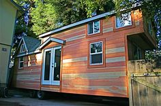 Molecule Builds Another Spacious Tiny Home on a Trailer -- Molecule Homes is where it's at! They have some spacious homes.
