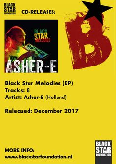 Black Star Melodies album door Asher-E op melodica