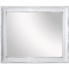 Tangerine Mirror Company - Dream, Gloss White Mirror - 2043W-2935 - Home Depot Canada   *For the office above the dresser?