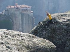 A Leap of Faith. Taken by Mr. Theklan in Trikala, Thessalia, Greece.