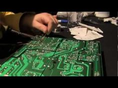 This video is a tutorial on repairing Flat Panel TVs, Monitors and Switching power supplies. Detailed information on soldering and testing is shown. Electronic Kits, Electronics Basics, Tv Services, Flat Panel Tv, Data Sheets, Heating Systems, Led, Simple, Flat Screen Tv Mounts