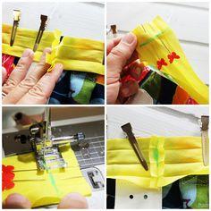 Il miglior modo per cucire un nastro in sbieco.
